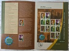 Ireland Stamps, Celebrating the Millennium, The Arts - 16/6/2000