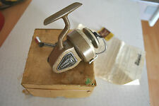 A SUPER VINTAGE BOXED MILWARD'S IMPROVED MAGNACAST THREADLINE SPINNING REEL