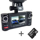 HD Dual Lens Car Camera Vehicle DVR Dash Cam Video Recorder Night Vision+8G TF