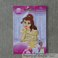 BonEful Boutique GIRL Disney Princess Dress S Fabric Iron On Applique Embroidery