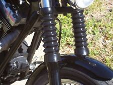 V-Twin 39MM Black Gator Front End Fork Boots Harley Sportster Nightster Iron XL
