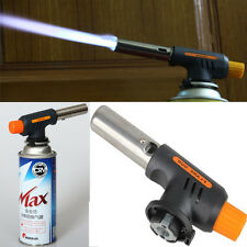 Better Gas Butane Flame Gun Torch Burner Welding Gas Gun Lighter BBQ Travel Kit