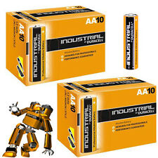 10+10 = 20 Duracell Industrial AA Alkaline Battery MN1500 LR6 REPLACES PROCELL