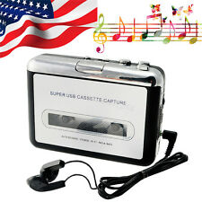 USA SHIP Tape to PC Ipod CD Cassette-to-MP3 Converter Capture Audio Music Player