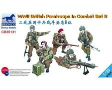 BRONCO CB35131 1/35 WWII BRITISH PARATROOPERS IN COMBAT SET B BNIB FREE UK P+P