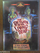 THE RETURN OF THE LIVING DEAD DVD 1985 Movie Punk Zombies Linnea Quigley NUDE