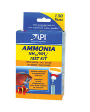 API Liquid Ammonia Test Kit Set Freshwater & Marine Aquarium Tank NH3 NH4