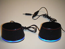 USB Powered Speakers, Gaming, Portable Laptop, PC's  Plug & Play Sound with