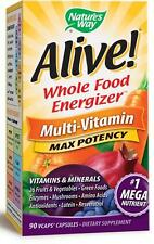Alive! Max Potency - 90 VCaps - Nature's Way