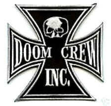 BLACK LABEL SOCIETY COLLECTIONS: BLS IRON CROSS BLS DOOM CREW CROSS PATCH