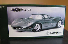 AUTOART AUTO ART JAGUAR XJ13 1/18 SCALE MIB DIECAST CAR MINT