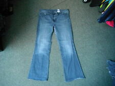 "Next Bootcut Jeans Size 16 Leg 30"" Faded Dark Blue Ladies Jeans"