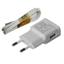 EU Plug 220V Wall Charger For SamSung Galaxy S3 S4 Micro USB Data Cable