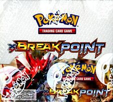 POKEMON XY BREAKPOINT BOOSTER 6 BOX CASE BLOWOUT CARDS