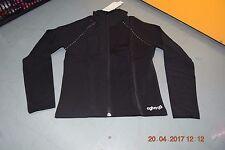 Black Agiva Ice skating thermal warm up jacket - 4600 - Age 12