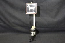 WHITE HORSE CELLAR Scotch Whisky Liquor Bottle Shot Dispenser w/Vise Table Mount