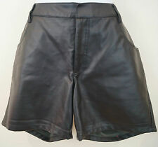 THEYSKENS' THEORY NERO porty Faux Leather sera Shorts Sz:40; US6; UK10 BNWT
