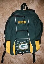 NWT NFL Green Bay Packers Backpack