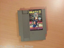 Ninja Gaiden 2 II  NES Nintendo  NTSC Good Condition
