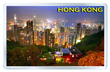 HONG KONG SKYSCRAPERS MOD4 FRIDGE MAGNET SOUVENIR IMAN NEVERA