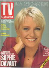 FIGARO TV 24/08/1991 sophie davant marilyn monroe