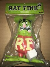 Dune Rat Fink Yellow/Green Version Soft Vinyl Ed Roth Sofubi Bemon Mooneyes Look
