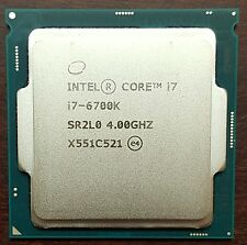 Intel Core i7 6700K  Skylake Quad-Core 4.0Ghz CPU only