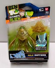 BEN 10 AMPFIBIAN GOLD 10CM LIMITED EDITION FIGURE
