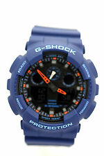 CASIO G-SHOCK GA100L-2A Ana-Dig Blue Resin Band