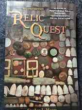 NEW RELIC QUEST BOOK for Modern Metal Detectors Detecting 510 pages 1510000