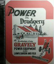 The Ultimate Gravely SuperBook Manual D,L LI, L8 5.5 Convertible 7.6 EVERYTHING!