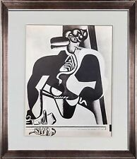 "Le CORBUSIER Lithograph ""... Cleopatre"" Limited Edition 27x22cm +Custom FRAME"