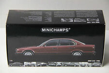 1/18 MINICHAMPS 1988 BMW 535i ( E34 ) , NEW , RED ( BURGUNDY )