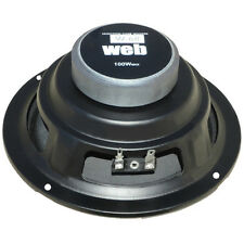 "WOOFER WEB W-068 16,50 CM 6,5"" 165 MM GIALLO IMPEDENZA 8 OHM 50 WATT RMS HOME DJ"