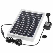 Anself polycrystalline silicon 12V 5W solar brushless pump water cycle/pond