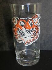 VINTAGE ESSO TIGER IN YOUR TANK GLASS Slogan in Multiple Languages!