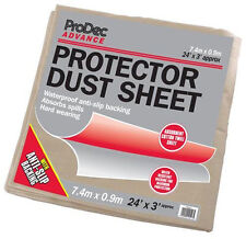 ProDec Advance Protector Dust Sheet Cover 24' x 3' Foot / 7.2 x 0.9m CRPR243