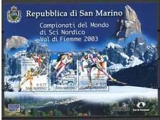 San Marino 2003  Bf 79 Campionati del Mondo di sci nordico Mnh