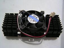 Ventilador AVC y negro del disipador de calor de aluminio para P111 12VDC 0.15A 50x50x10mm OL0342