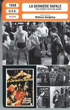 LA DERNIERE RAFALE - Widmark,Keighley(Fiche Cinéma)1948  The Street with No Name
