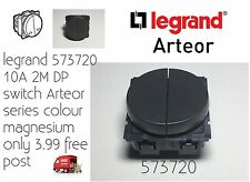 legrand 573720 10A 2M DP switch Arteor series colour magnesium Only 3.99