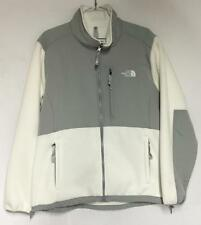 The North Face Womens Denali Winter Jacket White Alloy Grey Extra Large XL NEW