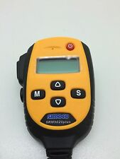 Globe Roamer Simoco SRM9020+ Yellow Hand Held Control Head for Simoco SRM9000