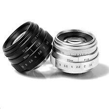 NEW FUJIAN 35mm f1.6 C mount CCTV Lens II for N1 Fujifilm FX NEX Micro 4/3 EOS M