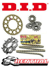 Renthal / DID Chain & Sprocket Kit with Carrier for Ducati 1200 Multistrada