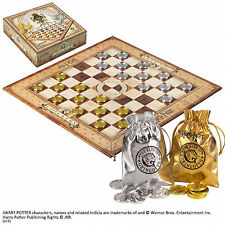 Official Harry Potter Hogwarts Gringotts Bank Checkers Set Noble Gift Draughts