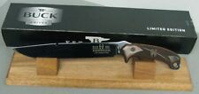 BUCK KNIFE 0060CCSLE LIMITED EDITION RON HOOD HOODLUM COCOBOLA BLUED 5160 NEW!!