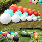 """10PCS 8"""" 10"""" 12"""" Multicolor Chinese Paper Lantern Wedding Lampshade Party Decor"""