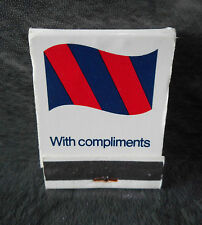 NEC Birmingham Match Book with matches - Vintage Collectable Match Box/Matchbook