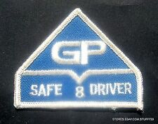 """GP GEORGIA PACIFIC SAFE DRIVER SEW ON PATCH PAPER TOWELS ATLANTA 3 1/2"""" x 3"""""""